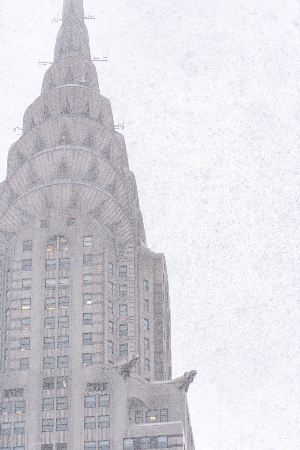 Location: Chrysler Building on 42nd Street