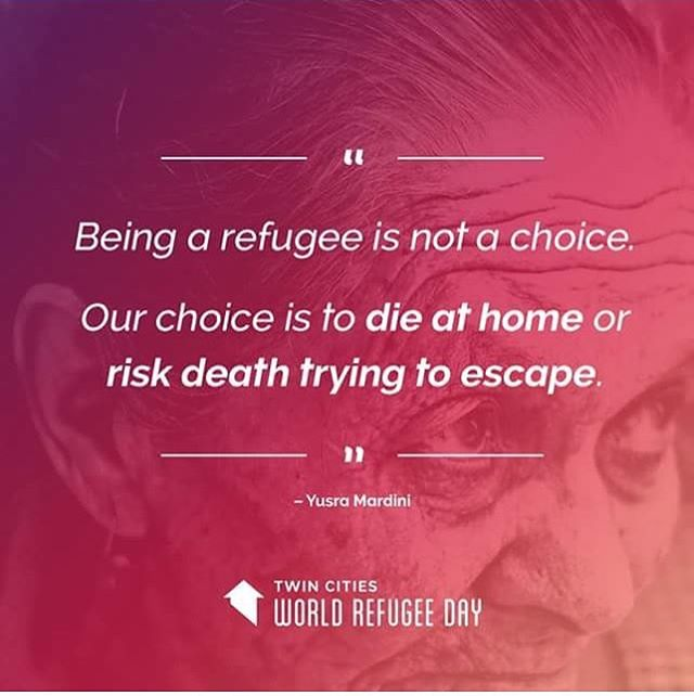 Every day is World Refugee Day. • • • • • •  #worldrefugeeday #refugees #aslyum #displacement #twincities #minnesota #refugeeswelcomehere #refugeeswelcome #community #compassion