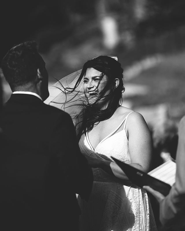 This bride and this wind. And how much she clearly loves her groom. 😍😍 @iamadrake @jh_drake