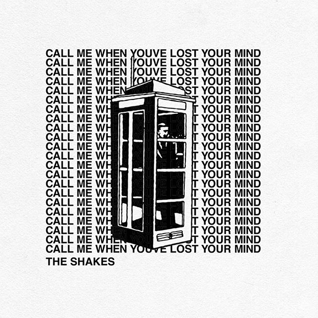 """call me when you've lost your mind"" t-shirts  available for tour next week"