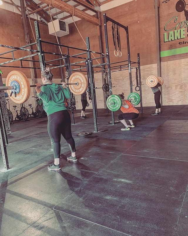 Workout Strength  8RM Back Squat  Wod: Every 4min x 5rounds  15/12 Cal Bike  3 Power Clean 185/125 3 Front Squat 185/125 3 Push Jerk 185/125 15 pull ups  #crossfit #workoutoftheday #backsquat