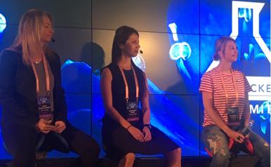 The all female VC panel:   Tanya Marvin-Horowitz, Alexandra Bause and   Ekaterina Gianelli