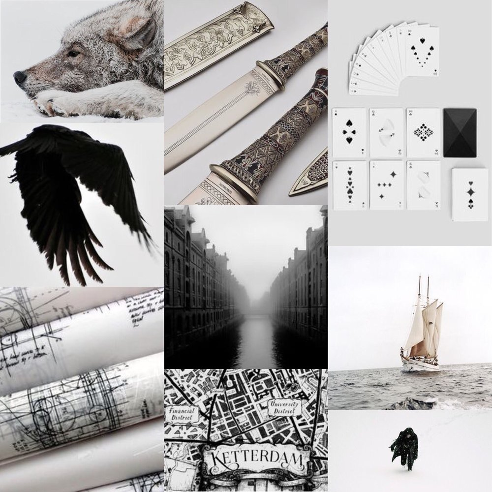 25. - Six of Crows//Leigh Bardugo