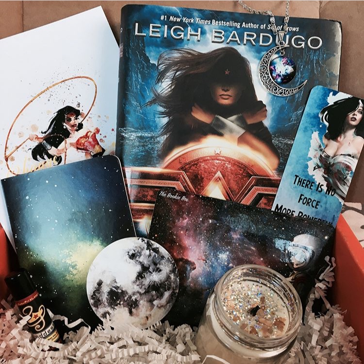 The Bookie Box theme of the month was 'Outer Space and Badass Women' and made for some pretty cool bookish merch!