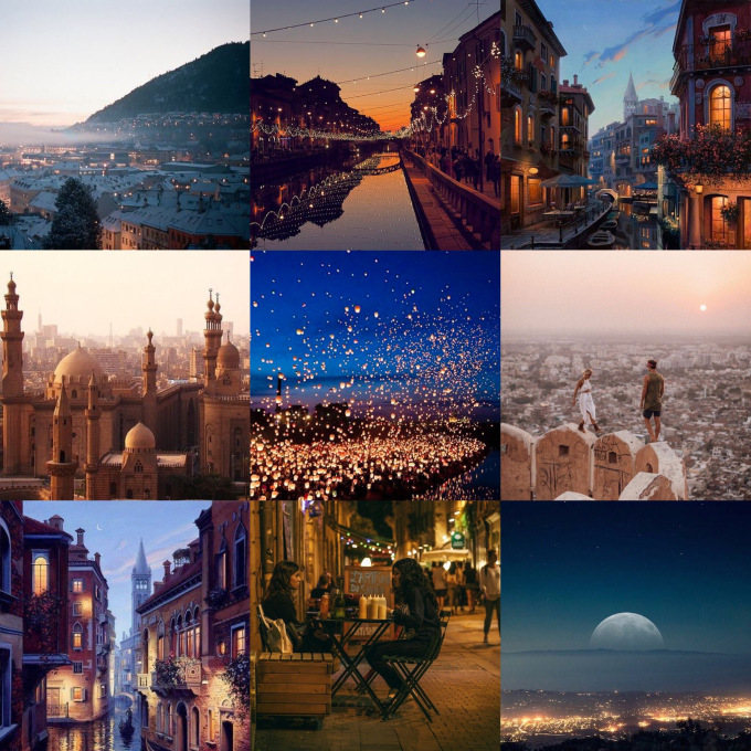 Velaris. - There is no place in this book that captured my heart quite like the City of Starlight. It literally sounds like every city I've ever wanted to visit (Paris, Venice, London, Marakesh, Fes, Florence, Barcelona, Edinburgh) rolled into one perfect city. And I just... I need to go there. NOW.