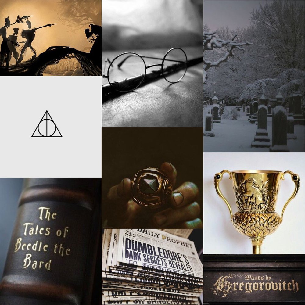 39. - Harry Potter and The Deathly Hallows//JK Rowling