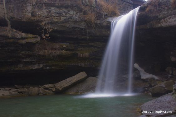 Buttermilk Falls. Photo by uncoveringpa.com