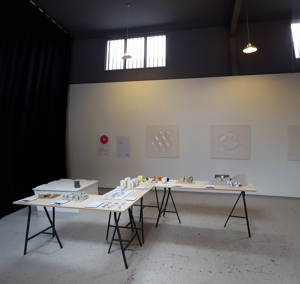 'The Maquette' exhibition and 'Modern Ornament' exhibition at Gayfield Creative Spaces, Edinburgh