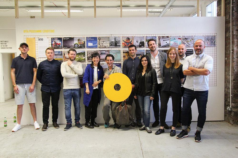 'New Typologies' contributors. Photo: The Architecture Fringe / Robb Mcrae