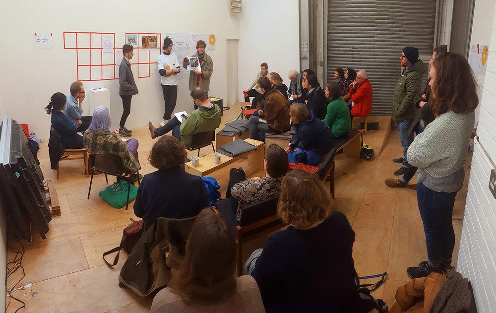 Open meeting at Rhubaba Studios, Edinburgh