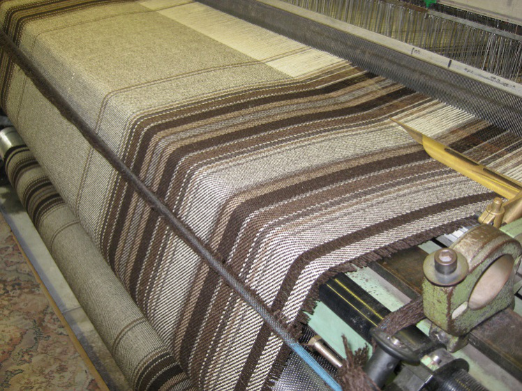 Our throws have been woven at a small family-run mill just down the road from Cwmchwefru.