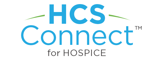 - HCS Connect™ for Hospice provides a robust, user-friendly solution for managing inter-disciplinary patient care, regulatory compliance, bereavement coordination and revenue cycle.
