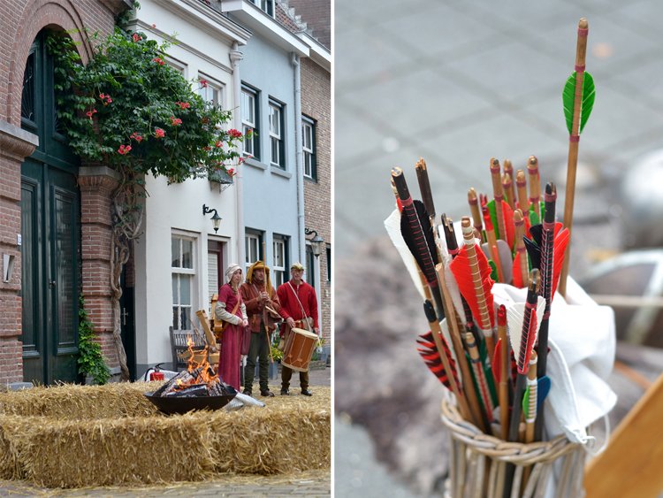medieval market, arrows - Inspire Styling journal