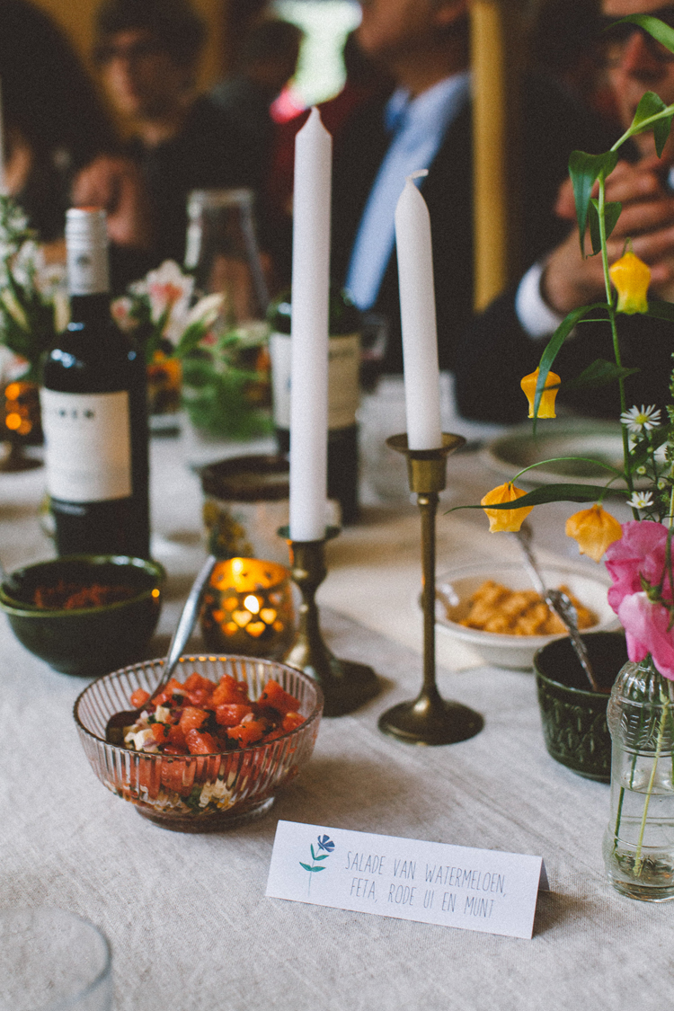 bohemian wedding in the woods | photo by 88forever | Food by Hééérlijk | Styling by Inspire Styling Weddings