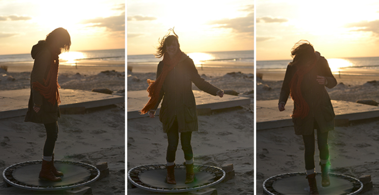 sunset trampoline | Inspire Styling journal