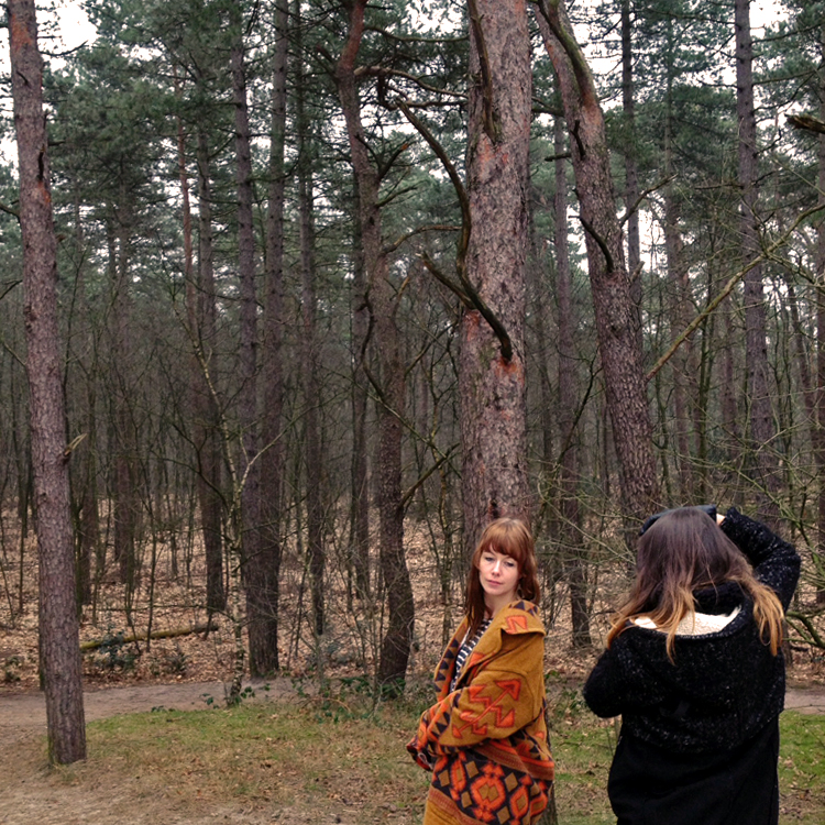 behind the scenes OhMarie Tribe shoot | photo by @annevanmidden | Inspire Styling