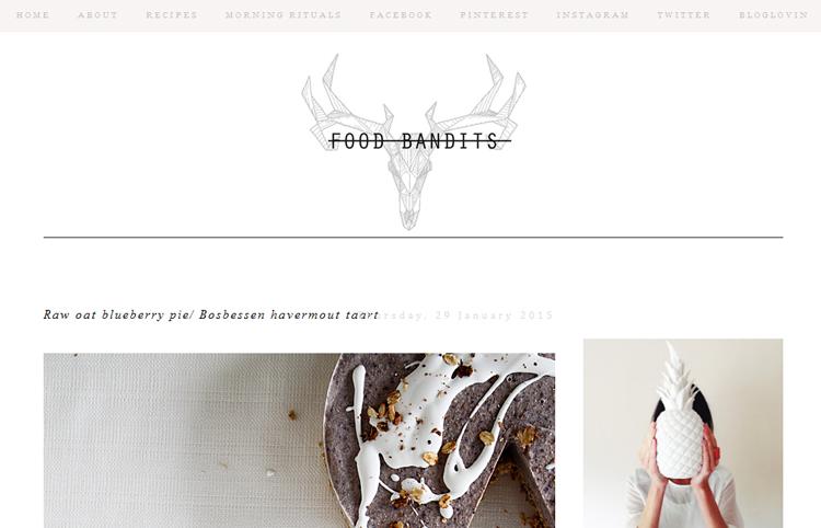 food bandits - 6 vegetarische kookblogs - Inspire Styling blog