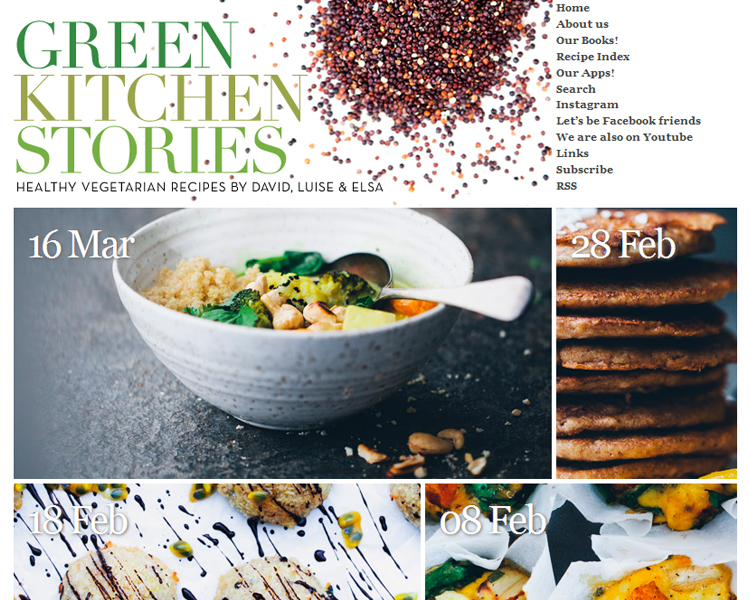 green kitchen stories - 6 vegetarische kookblogs - Inspire Styling blog