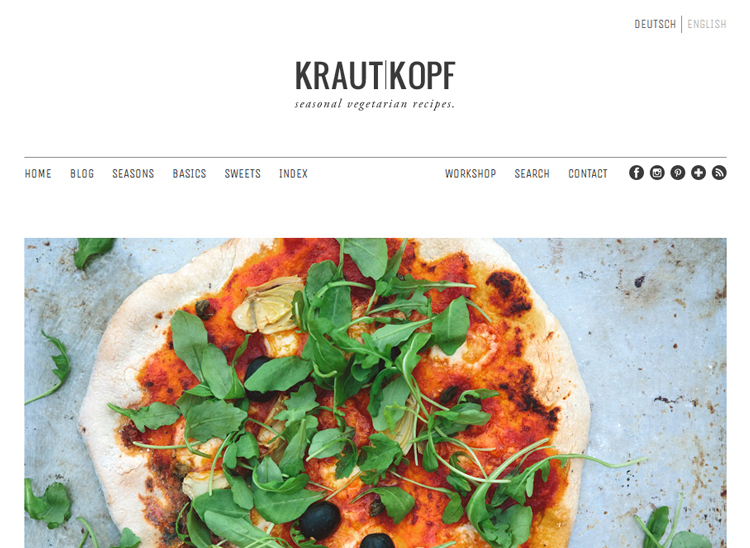 krautkopf - 6 vegetarische kookblogs - Inspire Styling blog