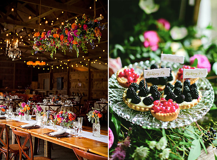 Floral-Greenery-Chandeliers - Genevieve Leiper Photography1