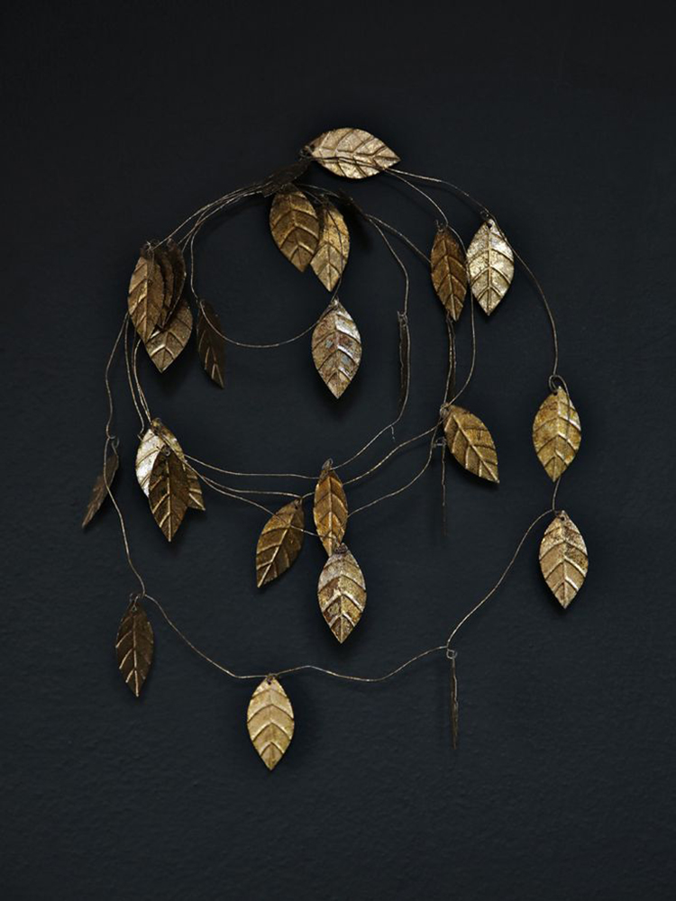 gold leaf garland via fossik