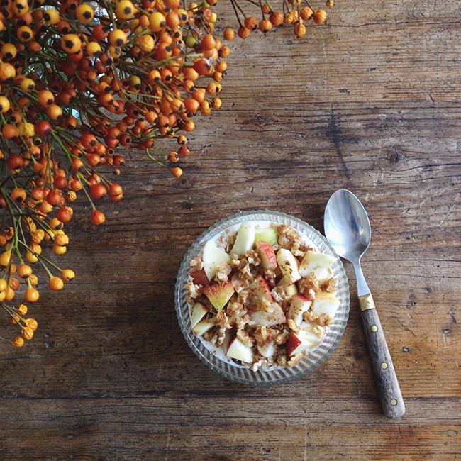 autumn breakfast - annevanmidden on Instagram