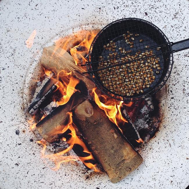 campfire popcorn - annevanmidden on Instagram