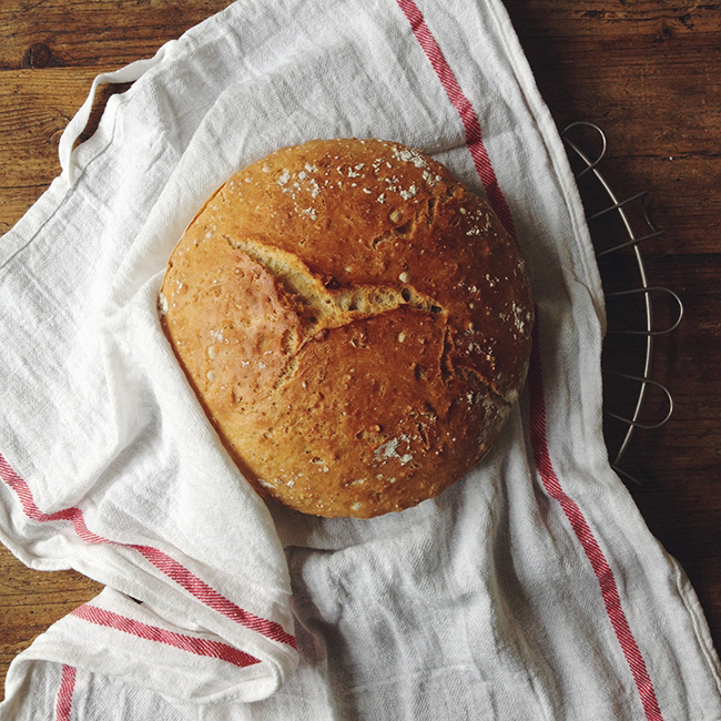 fresh homemade bread - annevanmidden on Instagram