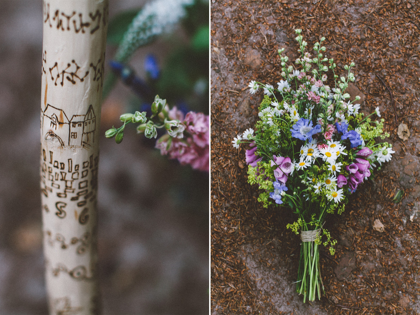 wedding in the woods / inspire styling / photo by oak&fir