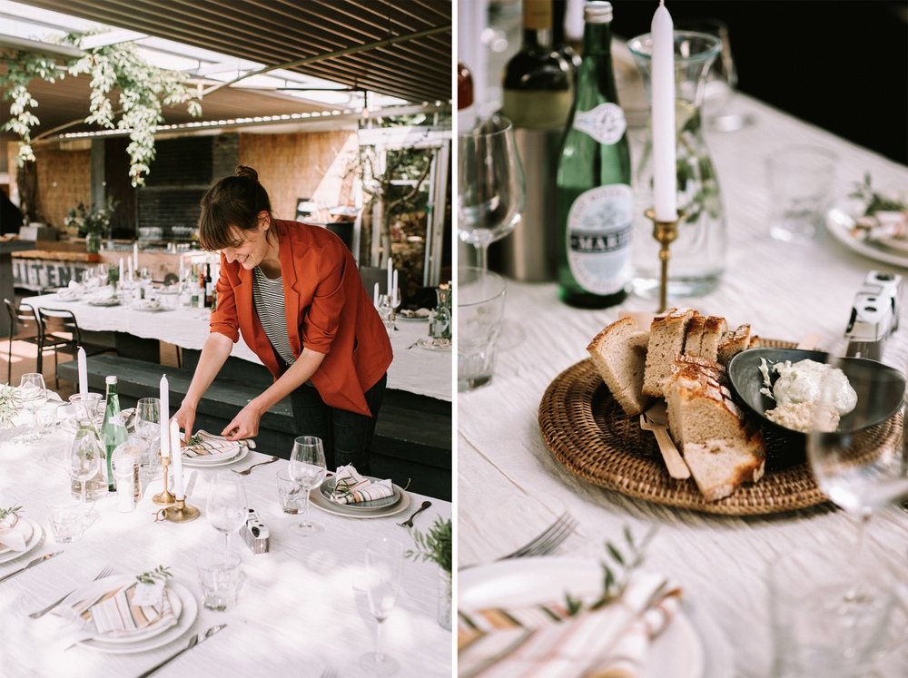 laidback summer wedding / photo by Lotts / styling + flowers by Inspire Styling