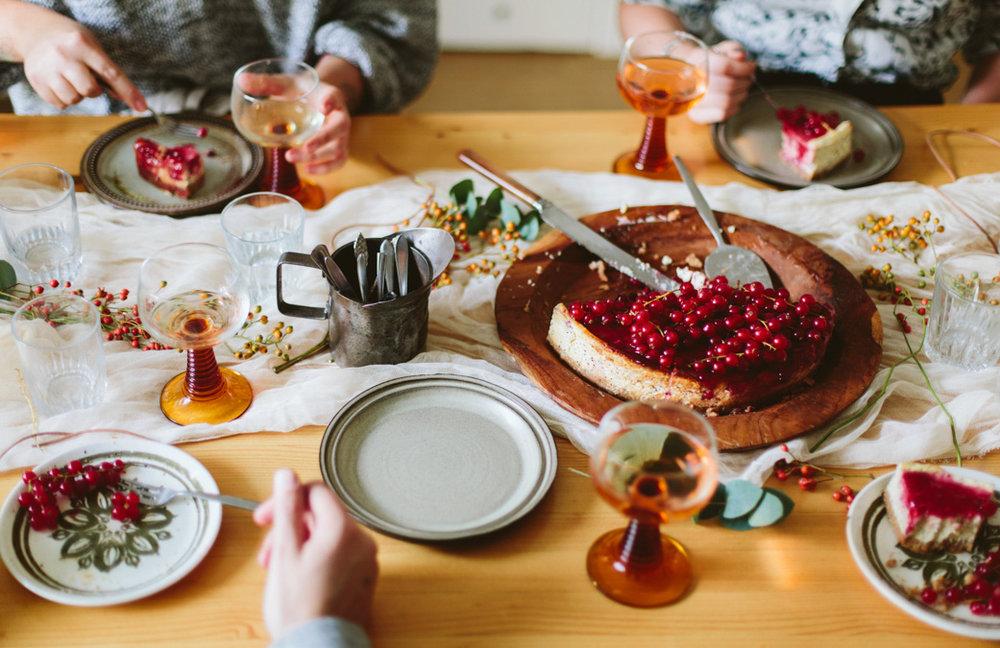 groene meisjes - autumn lunch - inspire styling