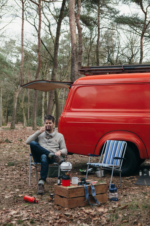 firevan camp weekend . anne van midden