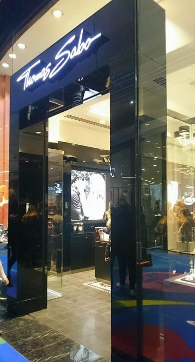 Portal till Tomas Sabo-butiken i Mall of Scandinavia
