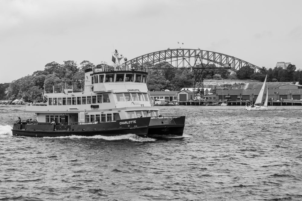 Sydney Harbour - A view of the finest harbour in the world is especially unique when viewed from Balmain, namely Ballast Point park. I will never tire of this view, watching the Sydney ferries and endless sailing boats drift past, as I sit nestled amongst historic landmarks and quite often with my toes in the water and a cold drink in hand. Bliss.