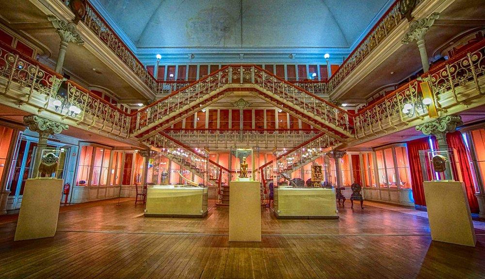 Des expositions ont lieu tout au long de l'année dans le Museu da Sociedade de Geografia