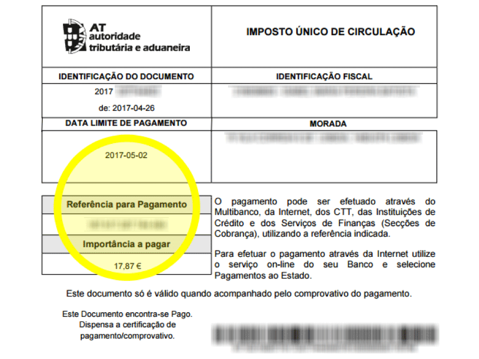 How To Pay Imposto Nico Circulao Iuc Tax Online Step By Step