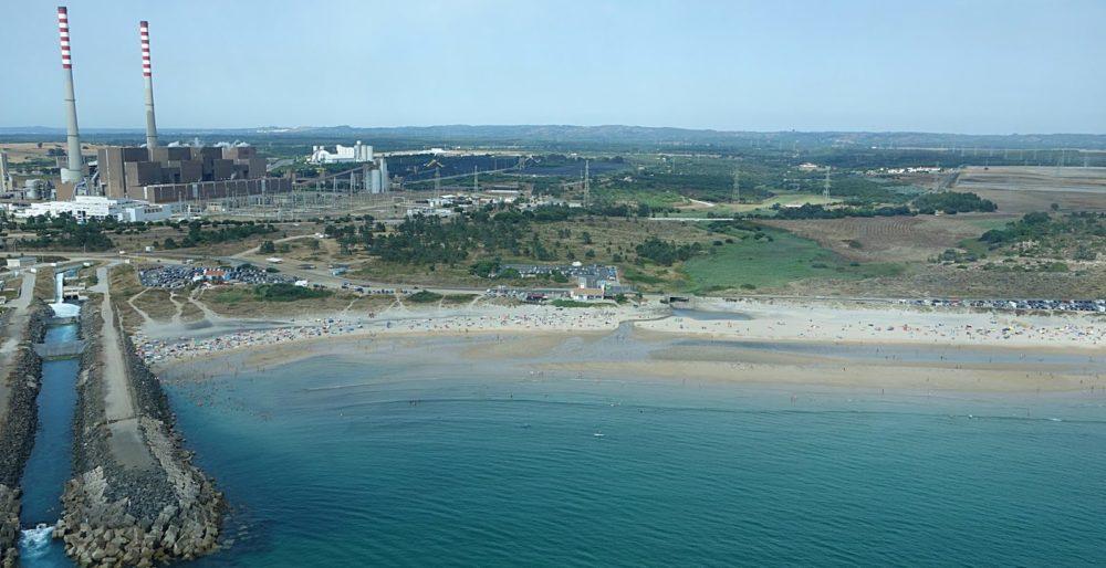 C'est une des plages avec les eaux les plus chaudes du Portugal