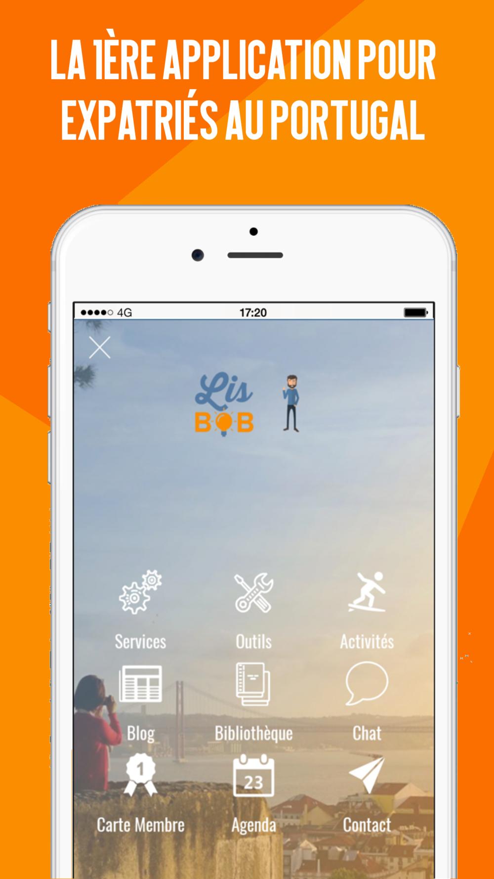 La 1ère application mobile pour expatriés au Portugal