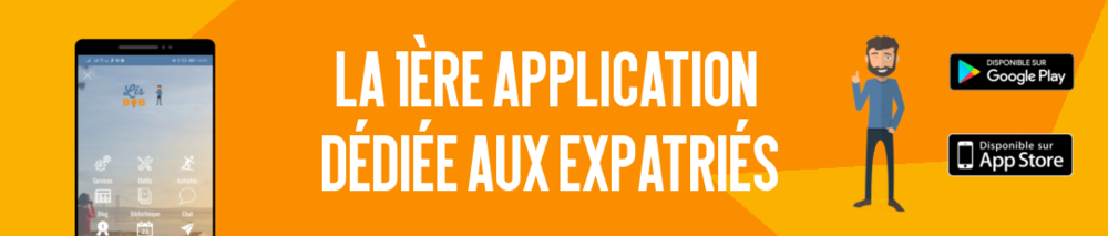 Découvrez la 1ère application dédiée au expatriés !