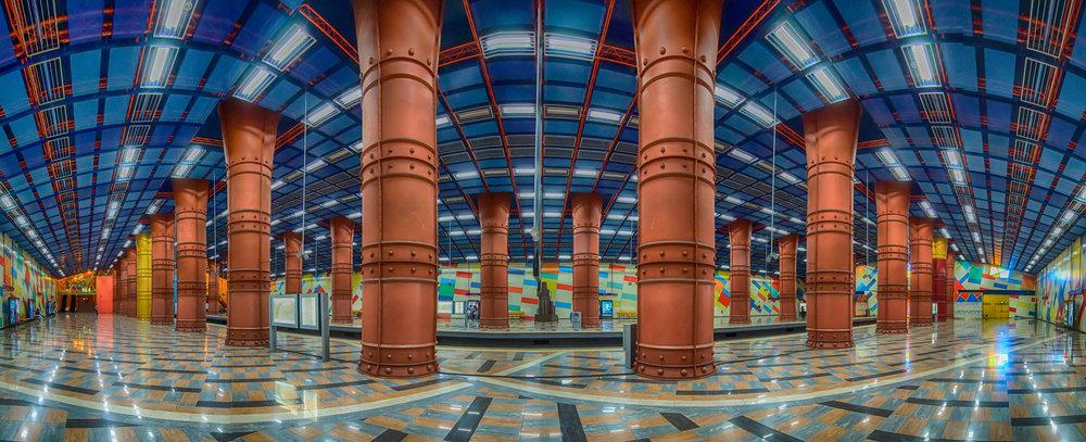 Station de métro Olaias à Lisbonne ©Beune