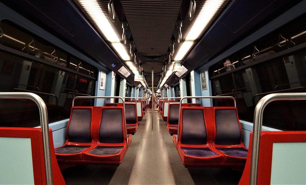 Vous n'êtes pas prêt de revoir la station de métro Arroios à Lisbonne