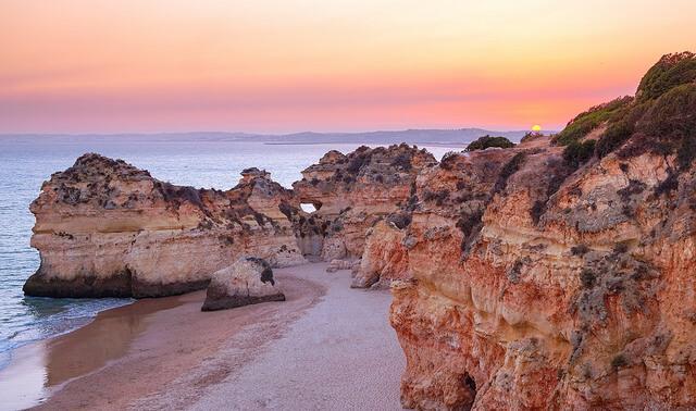 Vivre en Algarve c'est pouvoir profiter de couchers de soleils inoubliables