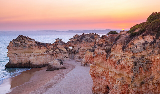 Vivre sa retraite en Algarve c'est pouvoir profiter de couchers de soleils inoubliables