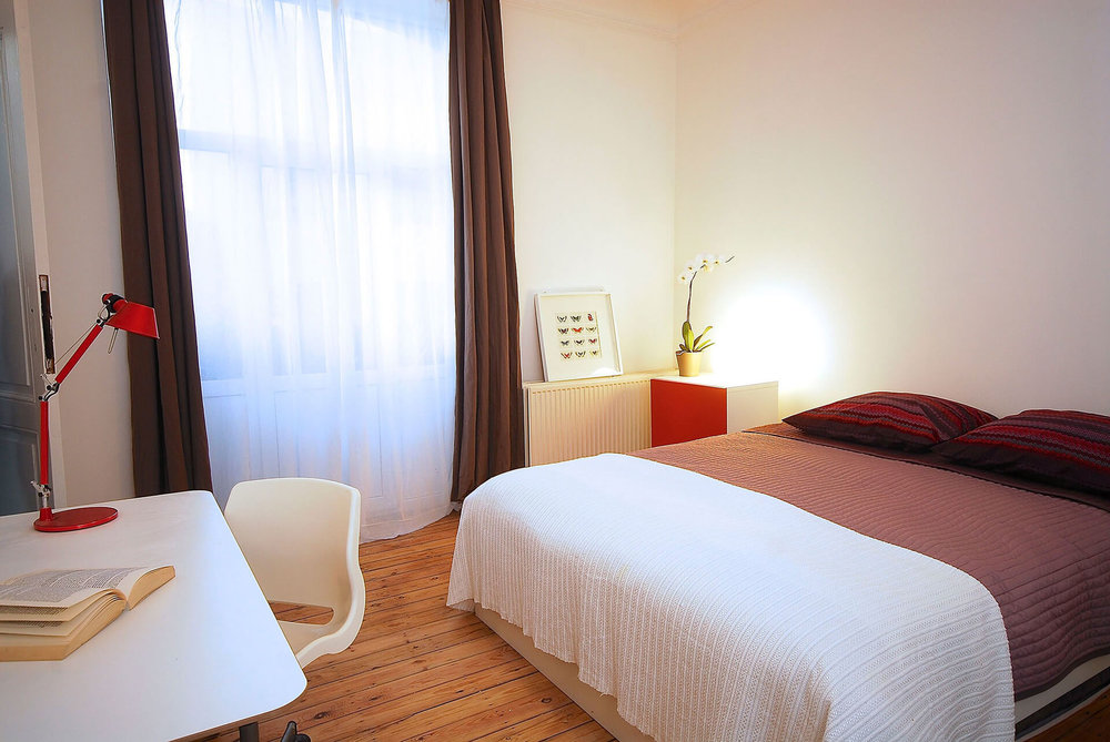 Exemple de chambre en collocation à Lisbonne au Portugal
