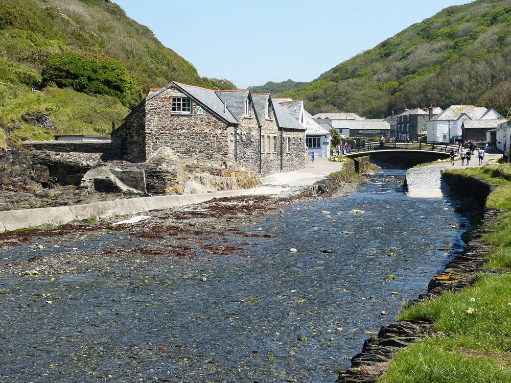 Boscastle's pretty harbour