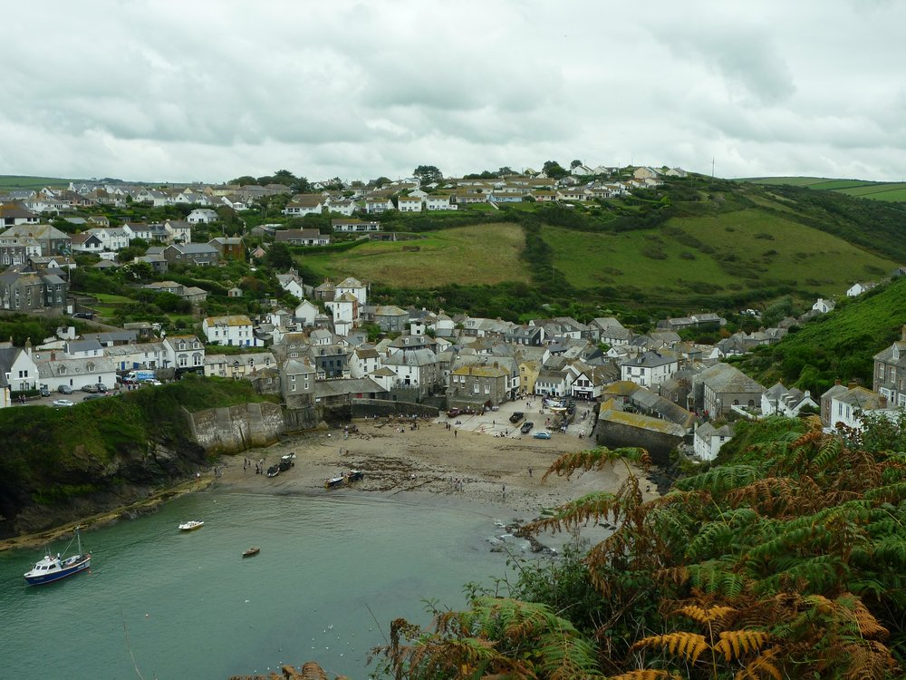 the golden lion inn overlooks the harbour at port Isaac and is one of our top5 go-friendly restaurants with a log fire
