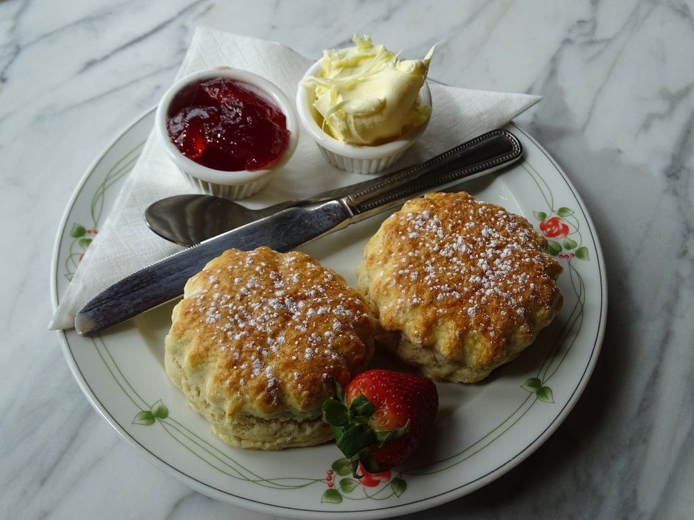 Enjoy a cream tea on the Bodmin and Wenford Railway