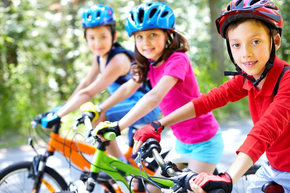 Take a family bike ride on traffic-free trails