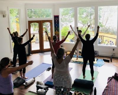 invigorating yoga set