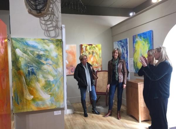Jan at Bluerock Gallery